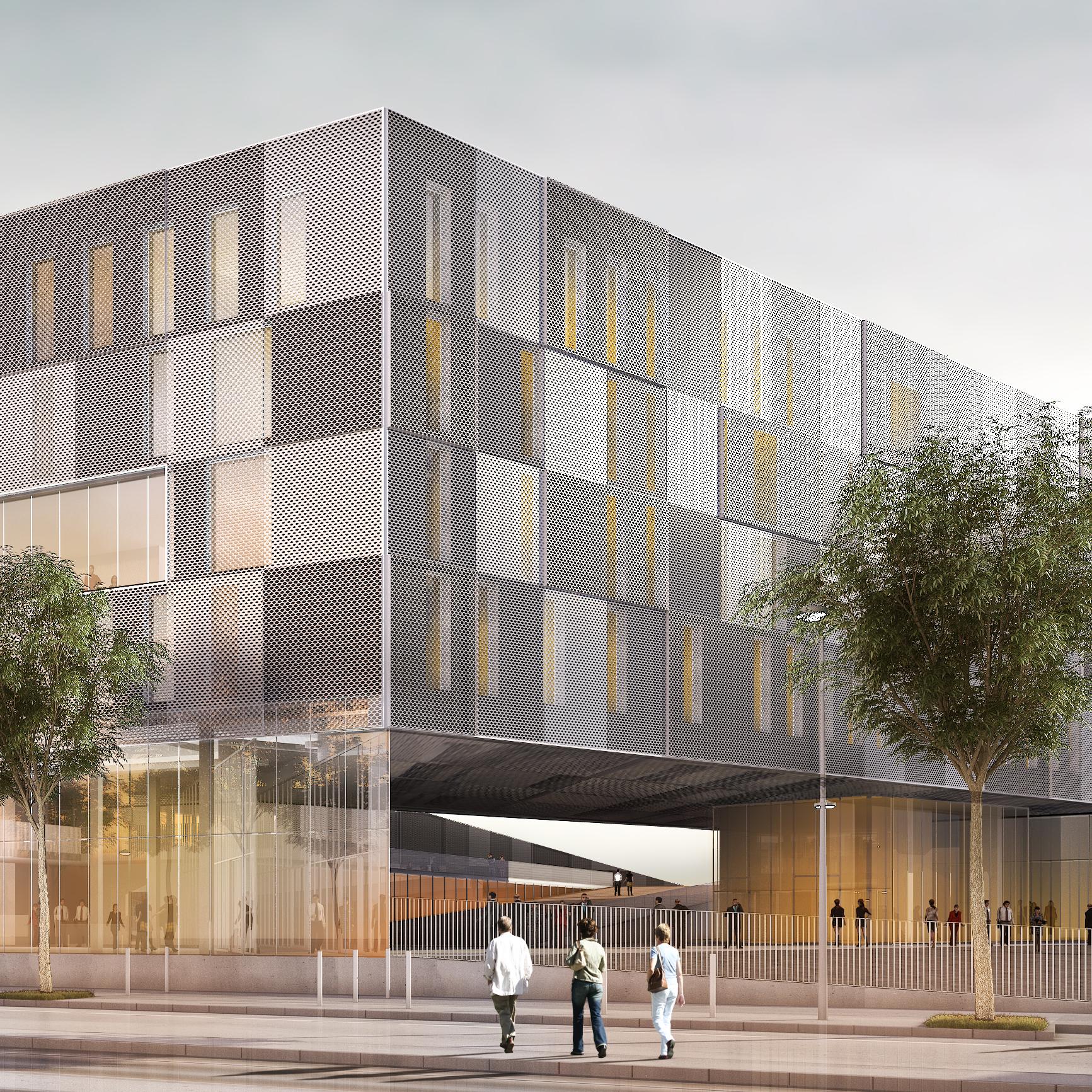 campus clermont ferrand g o architectes. Black Bedroom Furniture Sets. Home Design Ideas
